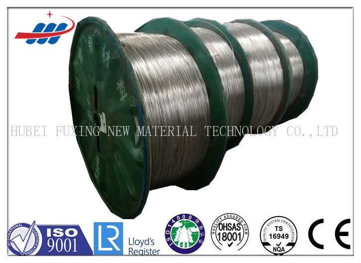 Hot - Dipped High Carbon Steel Wire 3.0mm For Elevator / Mechanical Equipment