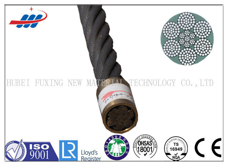 1570-1960MPA ZS / SZ Lay Wire Rope For Fishery Or Hoist , Anti Rotation Wire Rope