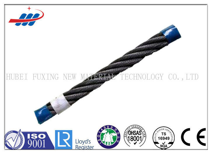 Professional 6x36WS Elevator Wire Rope For Dragging , Diameter 13mm